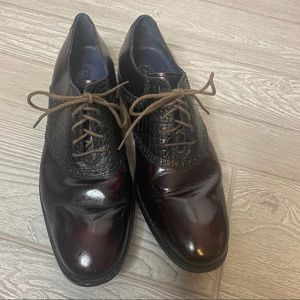 Cole Haan Nike air wingtip Oxford dress shoes